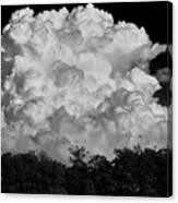 Beautiful Full Cloud Canvas Print