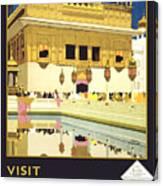 Beautiful India Poster Canvas Print