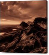 Beautiful Isle Of Skye Canvas Print