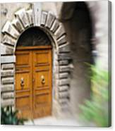 Beautiful Italian Doorway Canvas Print