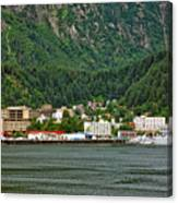 Beautiful Juneau Alaska Canvas Print