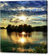 Beautiful Light Of The Golden Hour Canvas Print