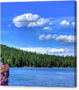 Beautiful Luby Bay On Priest Lake Canvas Print
