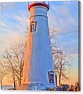 Beautiful Marblehead Lighthouse Canvas Print
