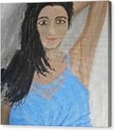 Beautiful Model Canvas Print