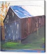 Beautiful Old Barn Canvas Print