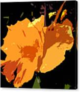 Beautiful Orange Work Number 19 Canvas Print