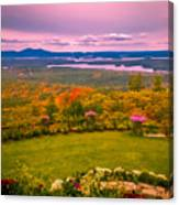 Beautiful Overview Of New Hampshire Canvas Print