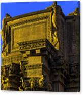 Beautiful Palace Of Fine Arts Canvas Print