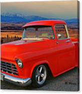 Beautiful Pick Up Truck Canvas Print