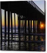Beautiful Pismo Beach Sunset Canvas Print