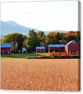 Beautiful Red Barn 1 Canvas Print