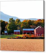 Beautiful Red Barn 4 Canvas Print