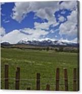 Beautiful Rocky Mountains Canvas Print