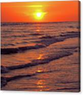 Beautiful Sanibel Sunset Canvas Print