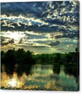 Beautiful Scene Before Sunset Canvas Print