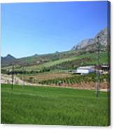 Beautiful Spanish Countryside Canvas Print