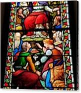 Beautiful Stained Glass At Emmanuel Church Baltimore # 5 Canvas Print
