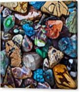 Beautiful Stones Canvas Print