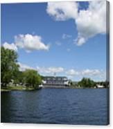 Beautiful Summerday At Lake Winnipesaukee Canvas Print