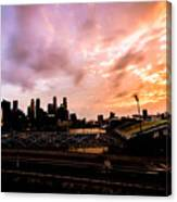 Beautiful Sunset 2 Canvas Print