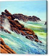 Beautiful Surf Canvas Print
