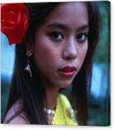 Beautiful Thai Girl Canvas Print