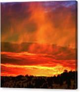 Beautiful Utah Sunset Canvas Print