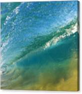 Beautiful Wave Breaking Canvas Print