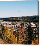Beautiful Whitehorse ... Canvas Print