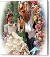 Beauty And The Beast II Canvas Print