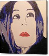 Beauty Beyond The Blue Canvas Print