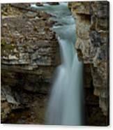Beauty Creek Blue Falls Canvas Print