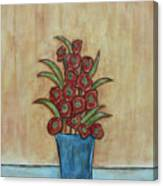 Beauty Grows Canvas Print