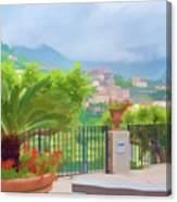 Beauty In Capri Canvas Print