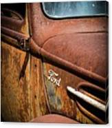 Beauty In Rust Canvas Print