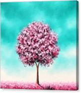 Beauty In The Bloom Canvas Print