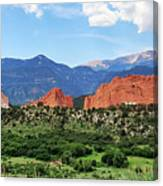 Beauty In The Springs Canvas Print