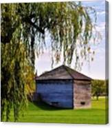 Beauty Of Fort Meigs Canvas Print