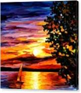 Beauty Of Night Canvas Print