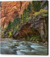 Beauty Of The Narrows Canvas Print