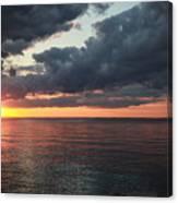 Beauty Of The Sunrise Canvas Print