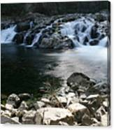 Beauty Of The Washougal River Canvas Print