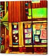 Beautys  Famous Mishmash Canvas Print