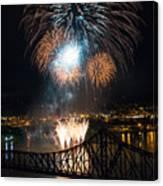 Beaver County Fireworks 2 Canvas Print