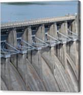 Beaver Dam Spillway Gates Canvas Print