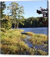 Beaver Lake Scenic View Canvas Print
