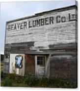 Beaver Lumber Company Ltd Robsart Canvas Print