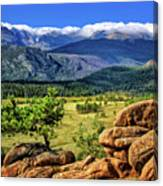 Beaver Meadows In Rocky Mountain National Park Canvas Print
