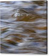 Beaver River Rapids Flow Canvas Print
